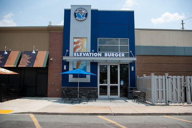 Elevation Burger menu prices