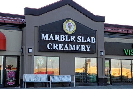 Marble Slab Creamery menu prices